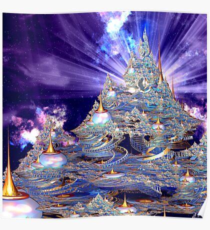 Bodhisattva Ascension Temple Poster