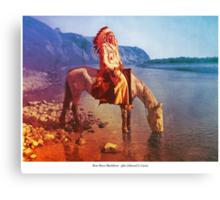 Bow River Blackfoot Canvas Print