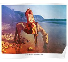 Bow River Blackfoot Poster