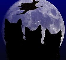Witching Hour Halloween by Edmond  Hogge