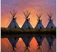 Dawn on the Washita by Randy Shields
