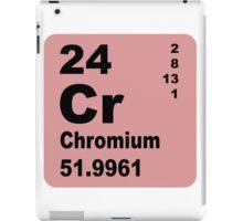 Chromium Periodic Table of Elements iPad Case/Skin