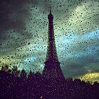 Eiffel in the rain... oh so romantic! by Gursimran Sibia