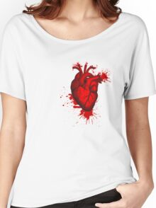 Heart Blood Women's Relaxed Fit T-Shirt