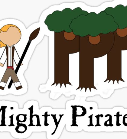 Guybrush Threepwood Mighty Pirate Sticker