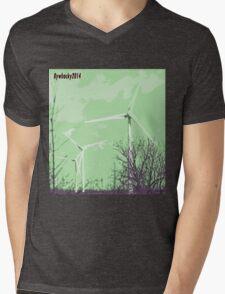 Windmils of Burton by whacky Mens V-Neck T-Shirt