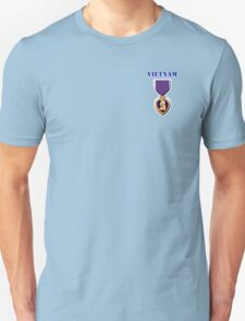 Purple Heart - Vietnam Unisex T-Shirt