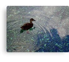 Lil' Duckie Canvas Print