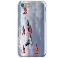 Final Vulcan Flight With The Red Arrows  - 3 iPhone Case/Skin