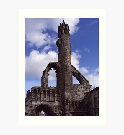 St Andrews' Cathedral Art Print