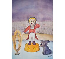 The Ringmaster and the Terrified Puppy Photographic Print
