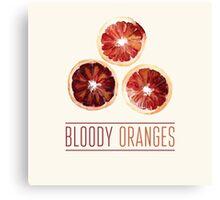 Bloody oranges Canvas Print