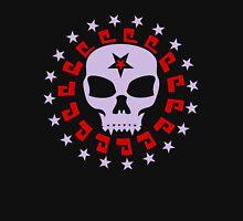 Goth Vampire Skull and Star Circle Unisex T-Shirt