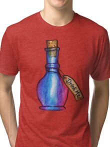 Drink Me | Alice In Wonderland  Tri-blend T-Shirt