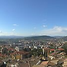 Panorama of Perugia, ancient & modern (best viewed large). by Philip Mitchell