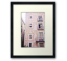 Barcelona 01 Framed Print