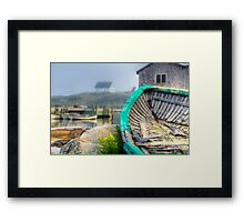 Dilapidated Dory Framed Print