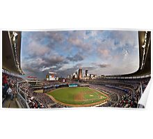 Target Field Sky Line - GO TWINS! Poster