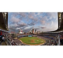 Target Field Sky Line - GO TWINS! Photographic Print