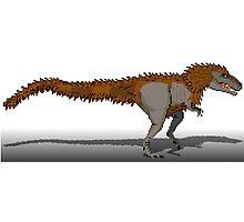 Tyrannosaurus Rex (with extra fuzz) Photographic Print