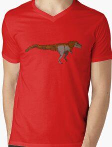 Tyrannosaurus Rex (with extra fuzz) Mens V-Neck T-Shirt