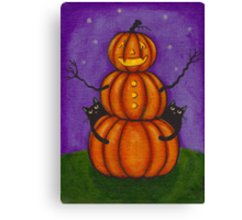 The Pumpkin Man Canvas Print
