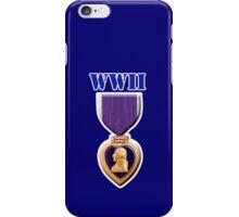 Purple Heart - WWII iPhone Case/Skin