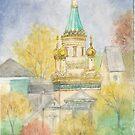 Sveti Nikolai Church, Sofia, Bulgaria by AngelArtiste