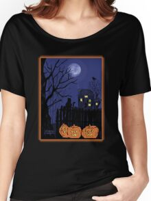 Spooky Night Women's Relaxed Fit T-Shirt