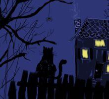 Spooky Night Sticker