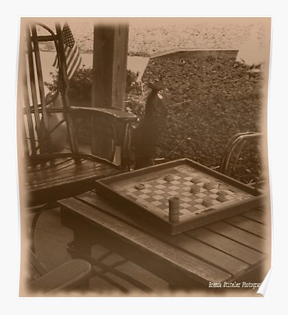 Checkers Anyone? Poster