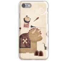 Dino-joust iPhone Case/Skin