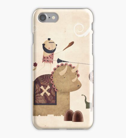 Dino-joust iPhone Case/Skin