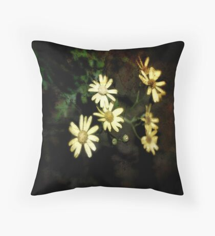 Where the Flowers Grow Throw Pillow