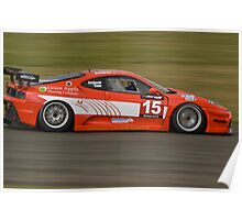 Ferrari F430 Scuderia (Dockerill/Kane) Poster