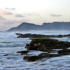 Scarborough at dusk by galemc