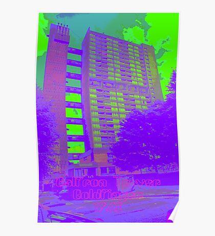 Balfron Tower, Erno Goldfinger, 1968 Poster