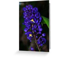Purple Ginger Maui, Hawaii Greeting Card