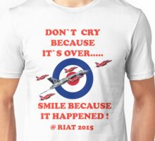 Vulcan Final Flight With The Red Arrows - Tee Shirt Unisex T-Shirt