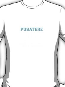 Its a PUSATERE thing, you wouldn't understand T-Shirt