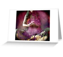 Flower Offering Greeting Card