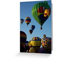 Escape by Balloon Greeting Card