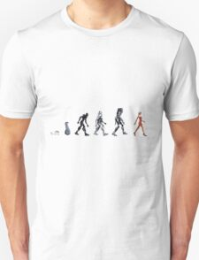 Evolution of The Cylon T-Shirt