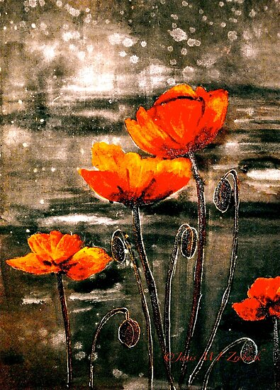 The Poppy Journals...Storm by ©Janis Zroback