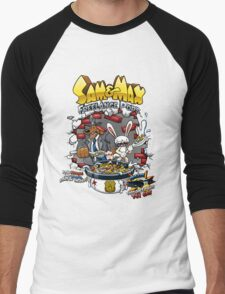 Sam & Max Freelance Pops Men's Baseball ¾ T-Shirt