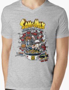 Sam & Max Freelance Pops Mens V-Neck T-Shirt