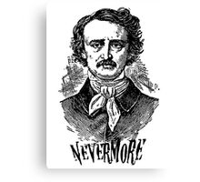 Forever be Nevermore Canvas Print