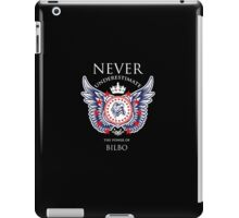 Never Underestimate The Power Of Bilbo - Tshirts & Accessories iPad Case/Skin