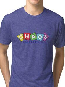 Chaos Motel Tri-blend T-Shirt