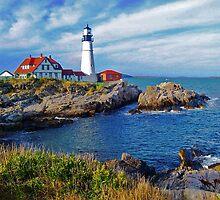 Portland Head Lighthouse by John Carpenter